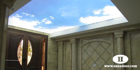 سقف کاذب کشسان
